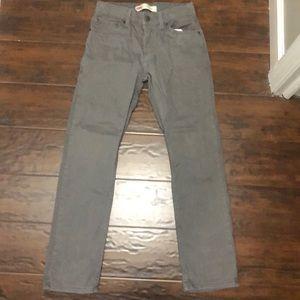 Boys gray jeans Levi's